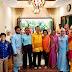 财长林冠英受到贵宾式招待,一起与友族朋友进餐共度开斋佳节。