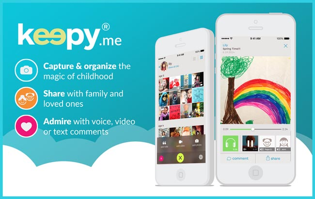 keepy app | ideas for saving kid's artwork