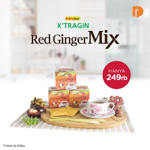 Xtragin Red Ginger Mix (Set of 4)