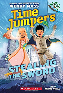 Time Jumpers: Stealing the Sword: A Branches Book