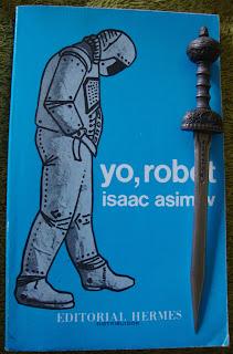 Portada del libro Yo, robot, de Isaac Asimov