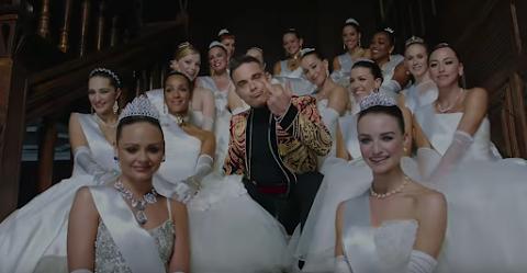 party like a russian, assaggiate il nuovo video di robbie williams