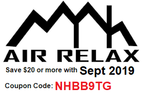 Air Relax Sept 2019 Discount Coupon Code