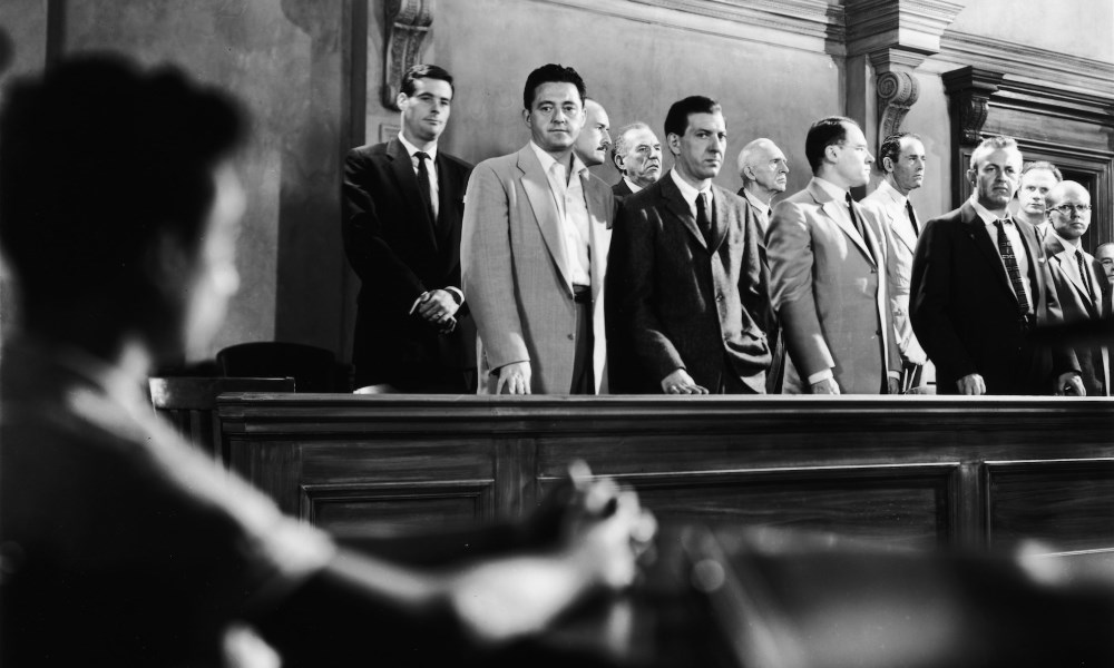 12 angry men belonging Twelve angry men reginald rose the play takes its audience into the jury room where a group of twelve men is performing its civic duty through the jury's.