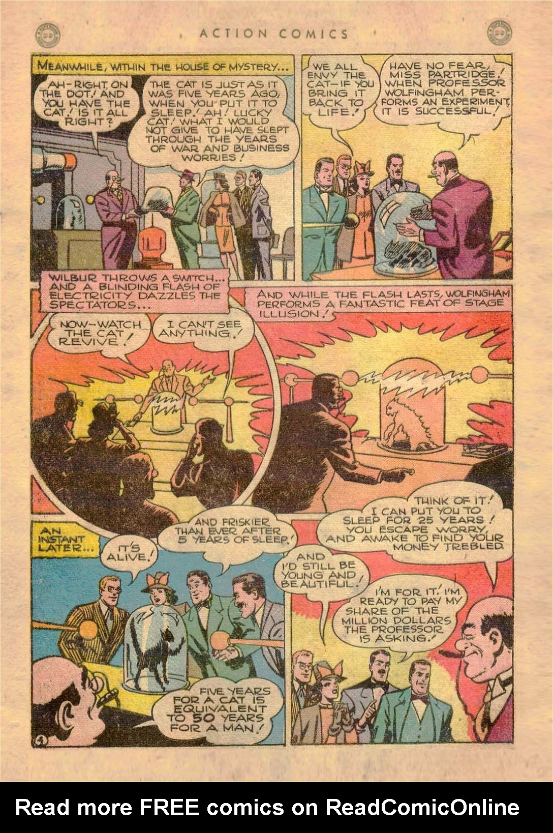 Read online Action Comics (1938) comic -  Issue #107 - 5
