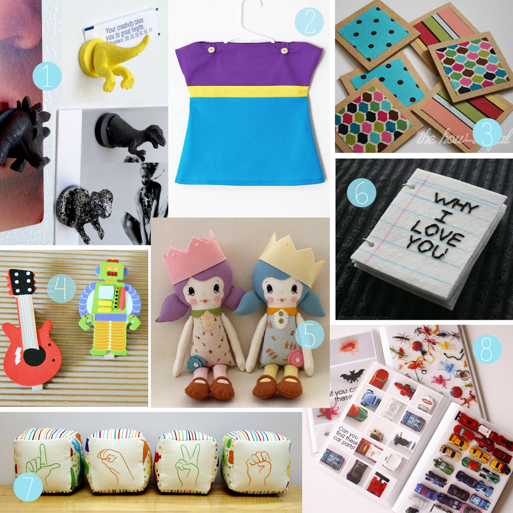 Homemade Gift Ideas That Kids: The How-To Gal: DIY Christmas Gift Guide For Children