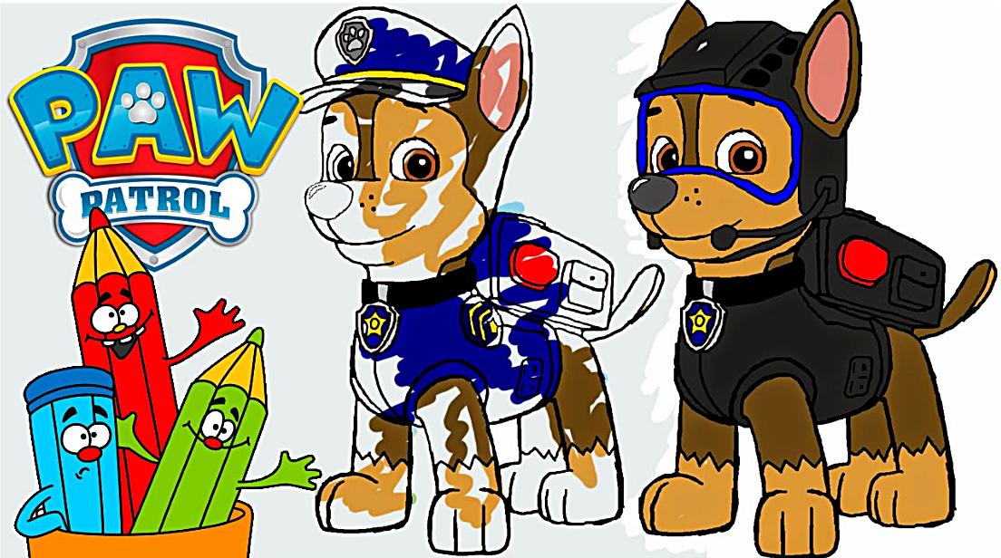 Paw Patrol Coloring Book Free Download Pdf Coloring Page