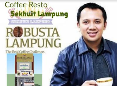 Soft Opening Coffe Resto Sekhuit dan Galeri Lampung di Bandung
