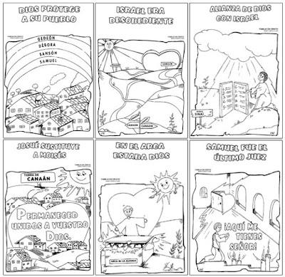 Historias De La Biblia Para Colorear Dibujos Infantiles Imagenes