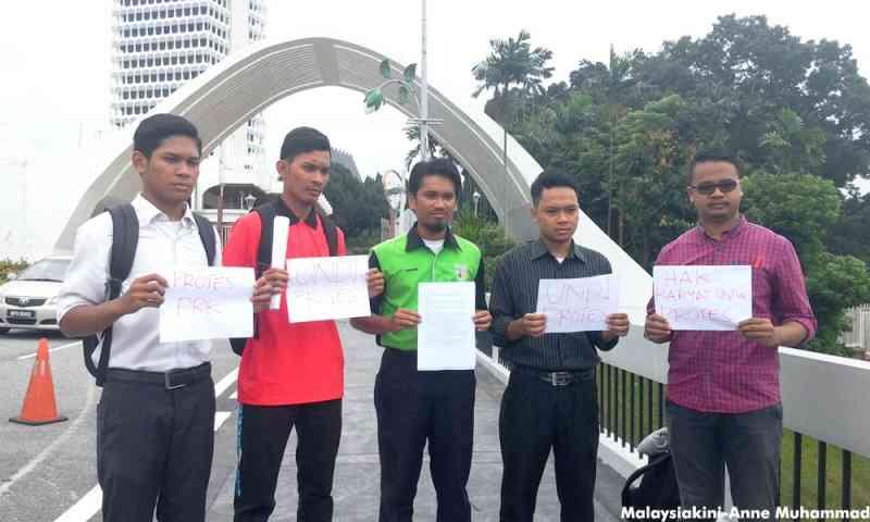 Siswa-kempen-protes-PRK-rosakkan-undi-PRK-Kuala_Kangsar-Sungai-Besar