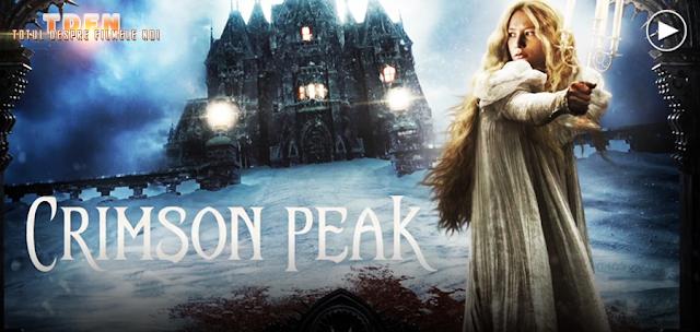 Vezi cel mai recent trailer pentru următorul film horror al maestrului Guillermo Del Toro: Crimson Peak.