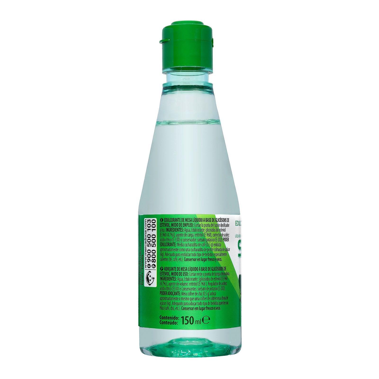 Edulcorante de stevia líquido Hacendado