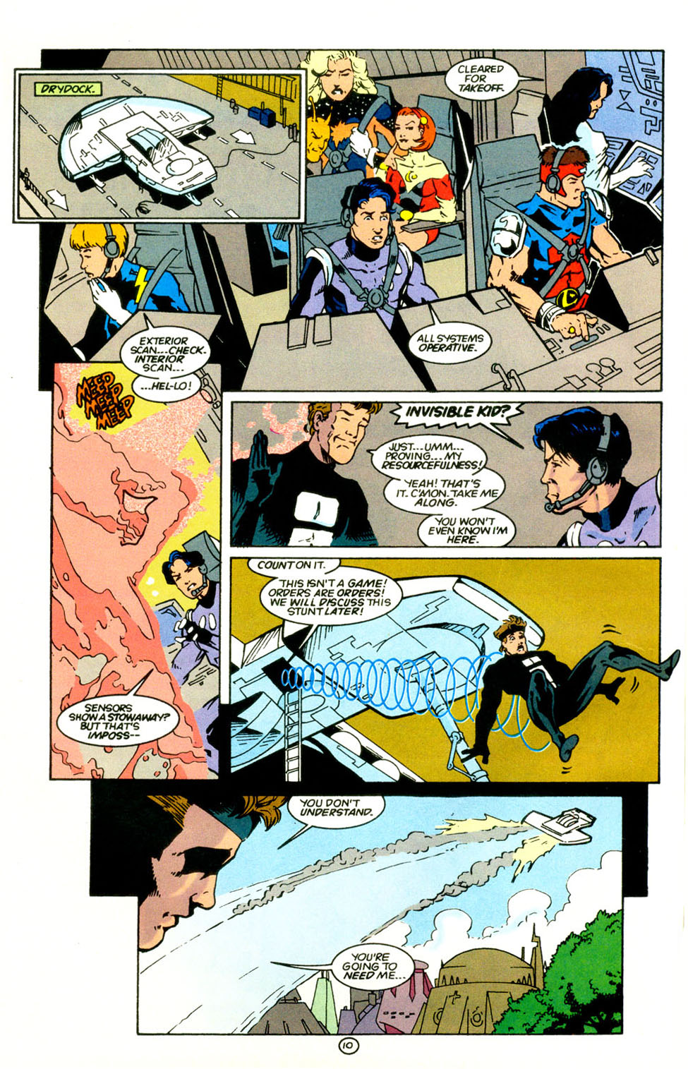 Legion of Super-Heroes (1989) 67 Page 10