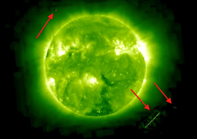 alien on the sun image