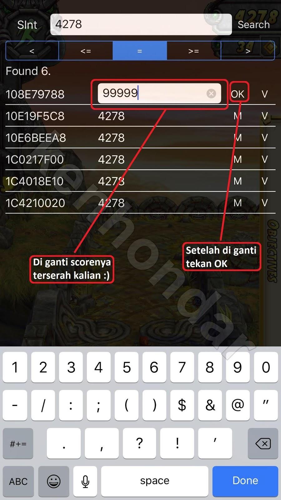 Cara Cheat Game Di iPhone & iPad Menggunakan Aplikasi Mirip Cheat
