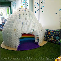 Milk Bottle Igloo