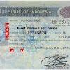 Dokumen Perjalanan 2 Visa