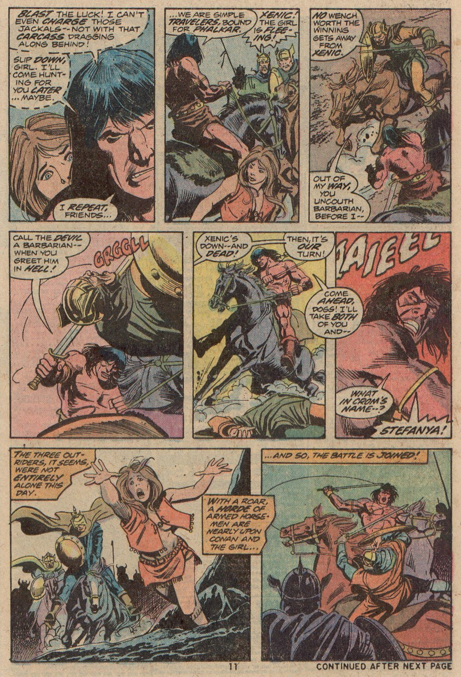Conan the Barbarian (1970) 48 Page 7