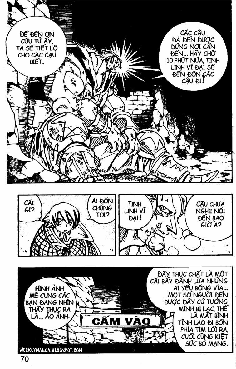 Shaman King [Vua pháp thuật] chap 107 trang 12