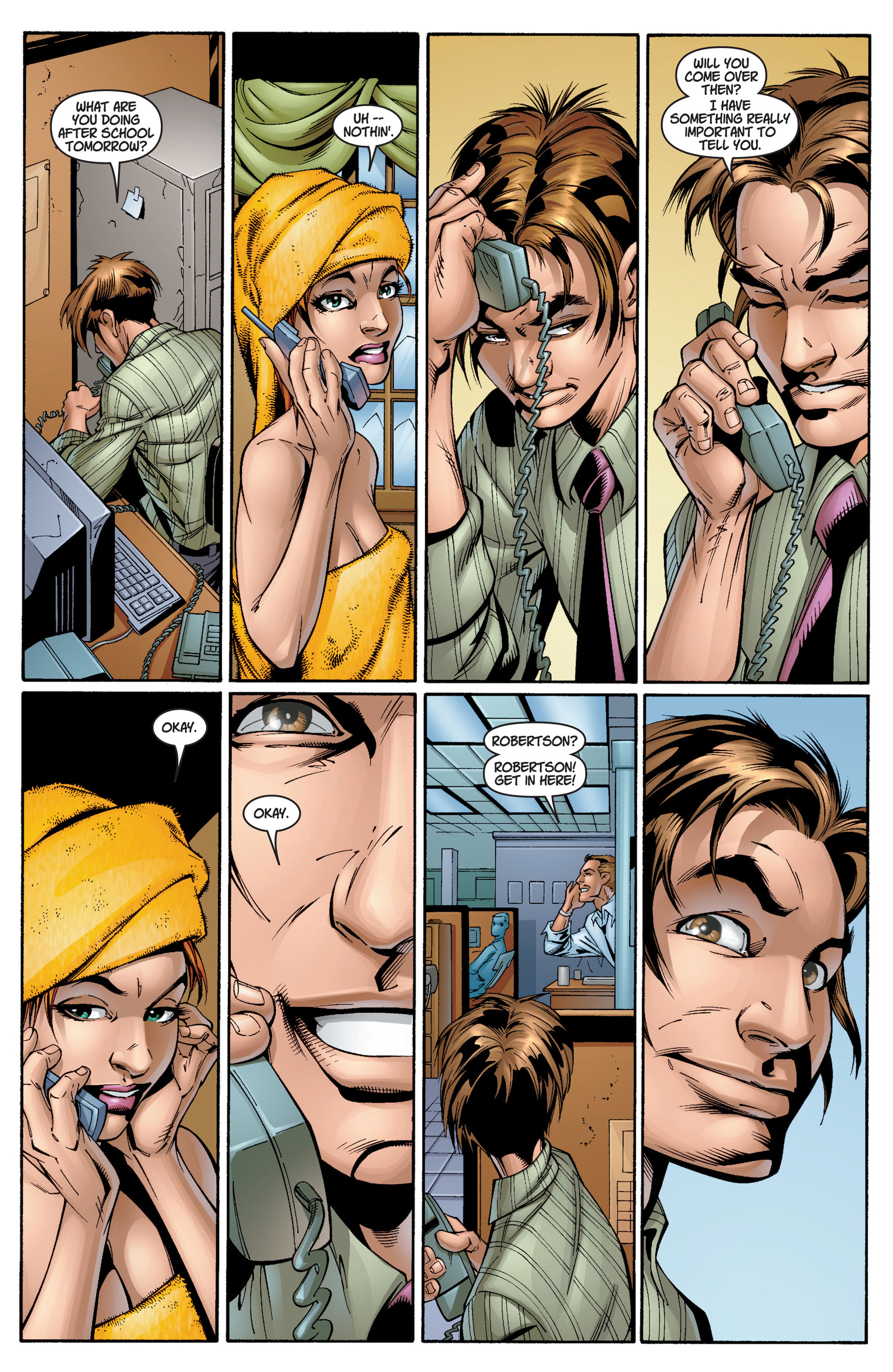 Read online Ultimate Spider-Man (2000) comic -  Issue #12 - 20