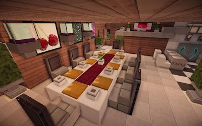 Minecraft Kitchen Design-Kitchen Island