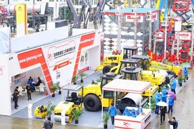 5 Hội chợ máy móc xây dựng, máy sản xuất vật liệu xây dựng, máy khai mỏ và xe vận tải