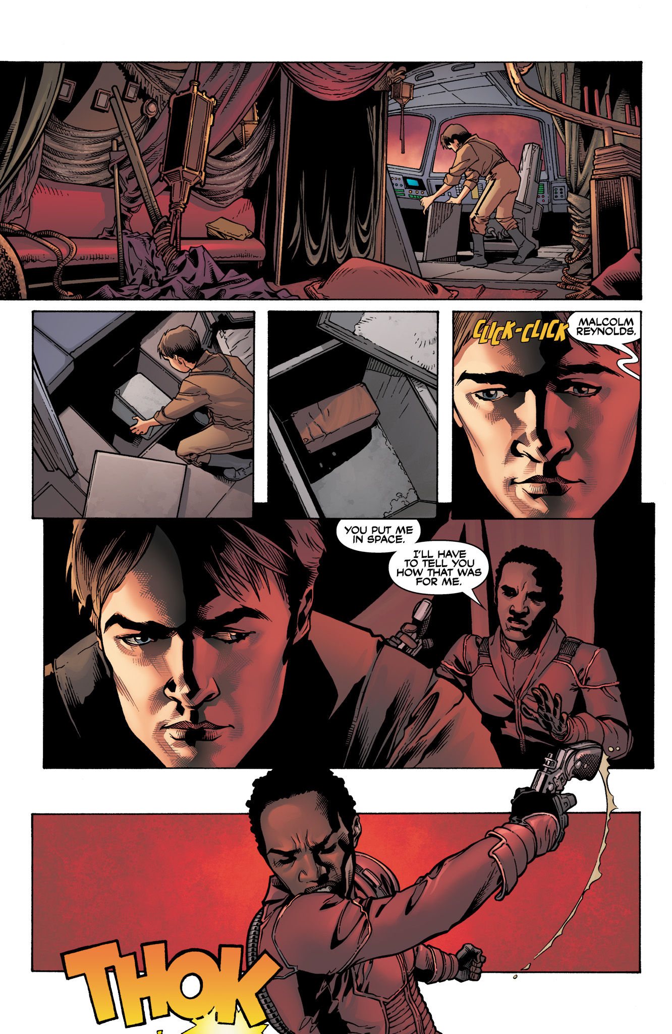 Read online Serenity: Firefly Class 03-K64  Leaves on the Wind comic -  Issue #3 - 10