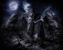 gothic angel wallpapers hd desktop haunted lost bad things guardian touched