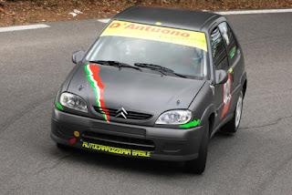 Citroen Saxo 1600 16V gruppo N in una gara in salita