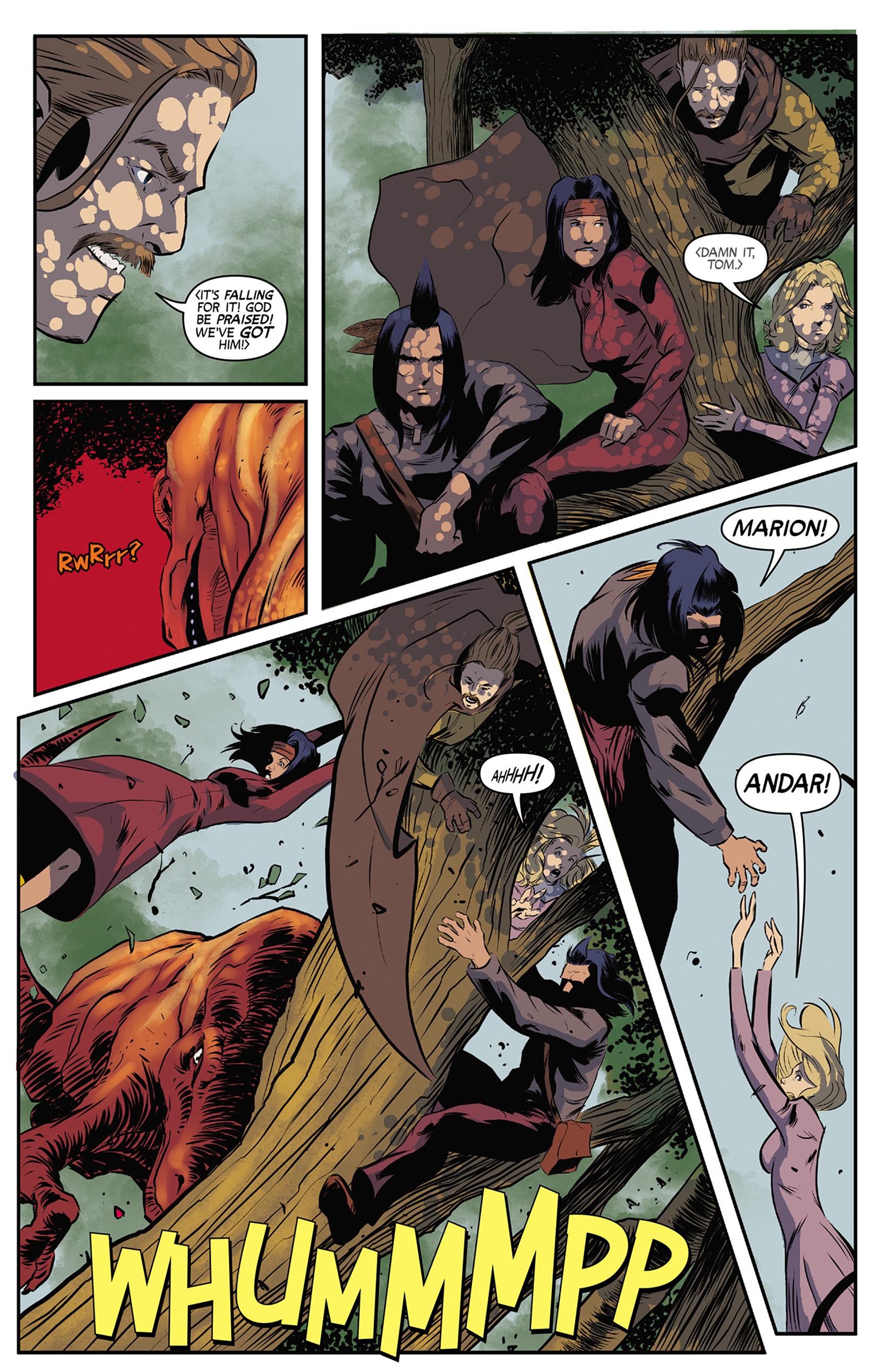 Read online Turok: Dinosaur Hunter (2014) comic -  Issue #9 - 4