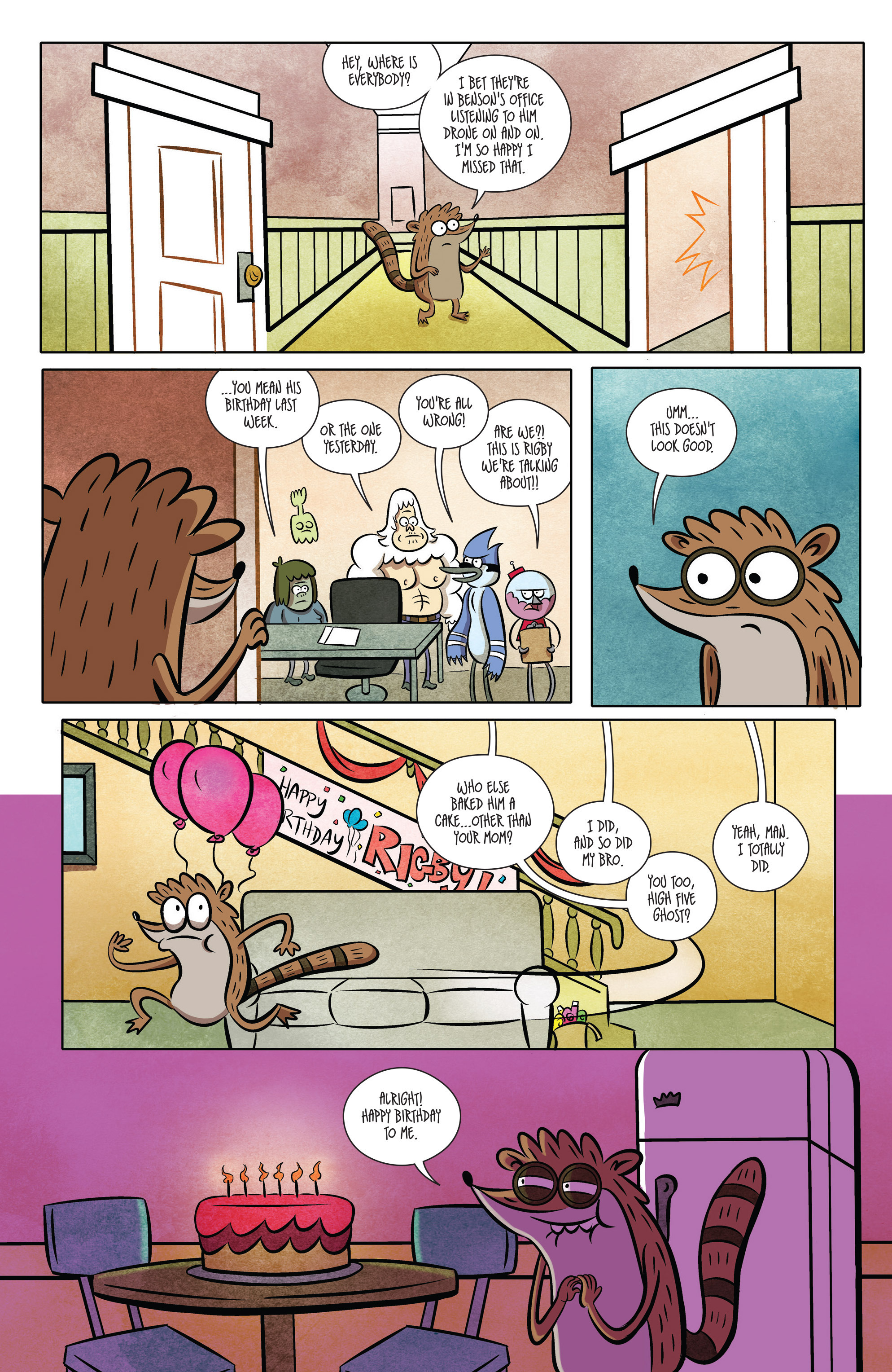 Read online Regular Show comic -  Issue # _2017 Special 1 - 4