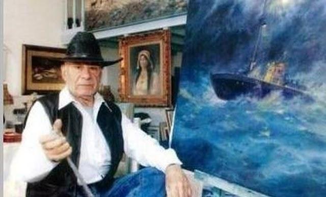 Έφυγε από τη ζωή ο Ηρακλειώτης ζωγράφος Μπότης Θαλασσινός