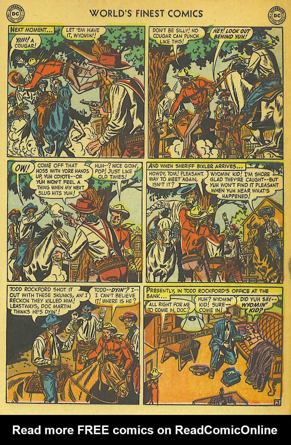 Read online World's Finest Comics comic -  Issue #57 - 31