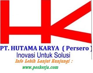 Lowongan Kerja Terbaru Hutama Karya Jakarta Maret 2018