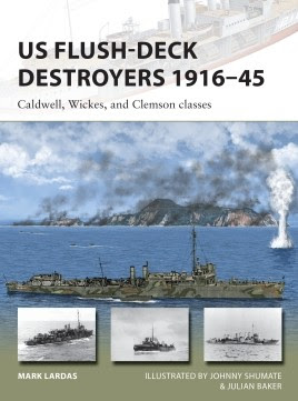 US Flush-Deck Destroyers 1916–45