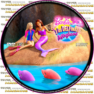 GALLETA BARBIE Y LOS DELFINES MAGICOS - BARBIE: DOLPHIN MAGIC - 2017