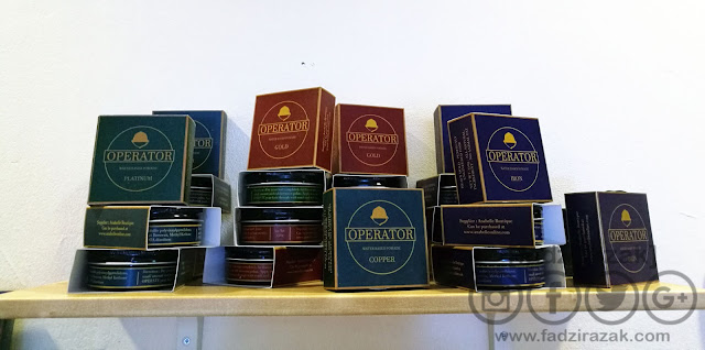 Exclusive Operator Pomade  Anabelle Boutique