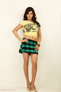 Samantha Ruth Prabhu in Micro Mini Skirt Spicy Pics