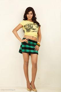 Samantha Ruth Prabhu in Micro Mini Skirt Spicy Pics