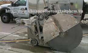 Khoan cắt bê tông tại huyện Đức Hòa
