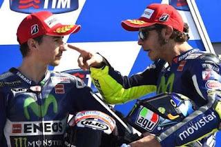 Lorenzo Marah Disalip Rossi di MotoGP Misano San Marino