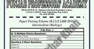 Biology intermediate 2 past papers
