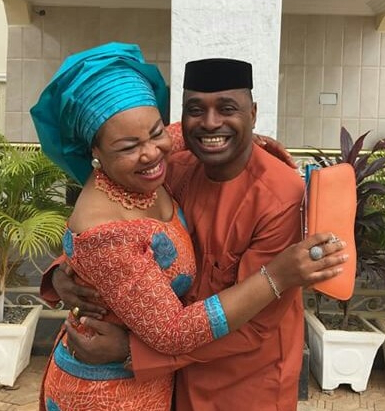 kenneth okonkwo wife gives birth baby