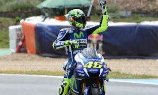 MotoGP Jerez 2016: Valentino Rossi Tercepat Latihan Bebas FP3