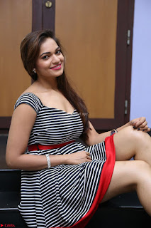 Ashwini in Spicy Short Deep Neck Dress at Pelliki Mundu Prema Katha Trailer Launch Exclusive  06.JPG