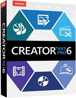 Corel Roxio Creator NXT Pro 6 v19.0.55.0 poster box cover