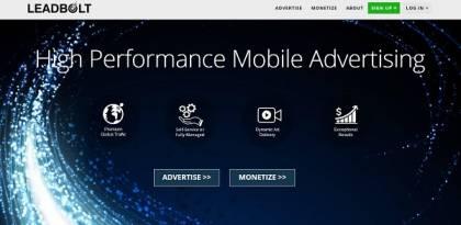 LEADBOLT ads network