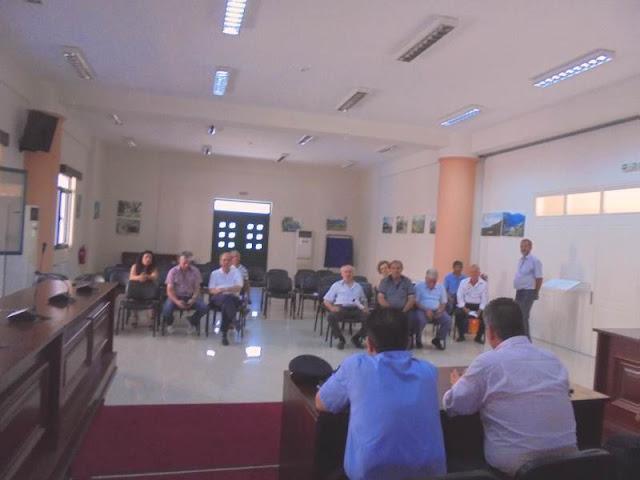 Θεσπρωτία: Επίσκεψη του Διοικητή των Πυροσβεστικών Υπηρεσιών Ηπείρου στο Δήμο Φιλιατών