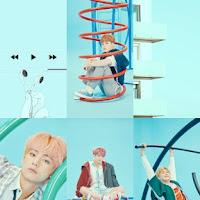 "BTS LOVE YOURSELF: ""ANSWER"" PHOTO CONCEPT F ver. Lockscreen 2018 (blue, green, aesthetic)"