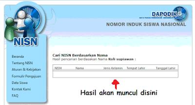 Cara Cek NISN Siswa ( Nomor Induk Siswa Nasional )